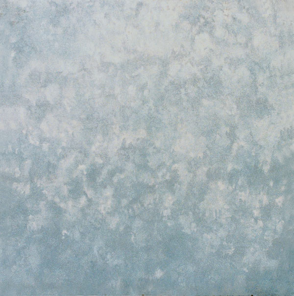Stock photo grey and blue sponge textured wall print Grey sponge painted walls