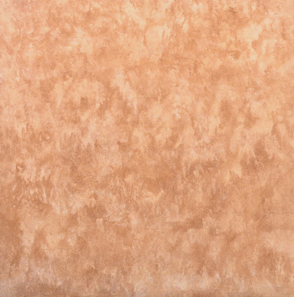 Tan And Orange Sponge Textured Wall Print
