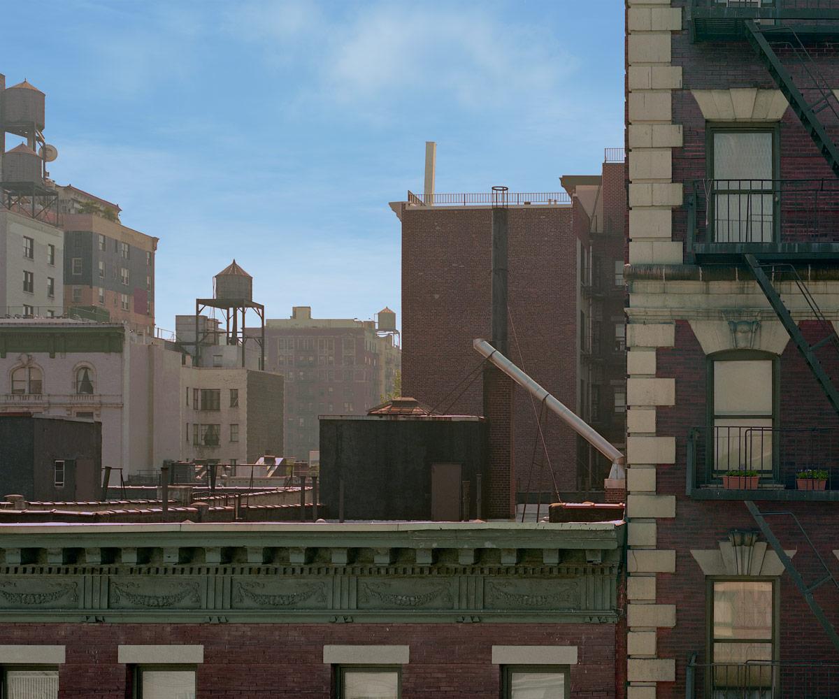 New York City Apartment Streets: New York City, 7th Floor View Of Brick